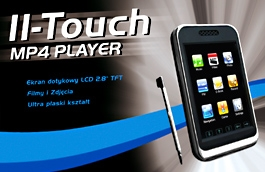II-Touch MP4 Player